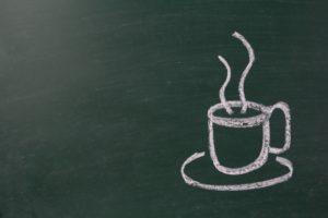 カフェにも梅醤番茶のメニューがある