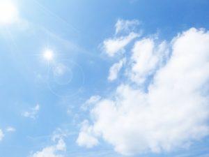 肌トラブルは紫外線の急増