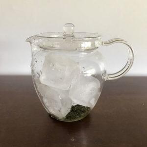 じっくり抽出し茶葉を味わう『氷出し茶』