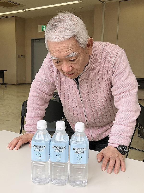 ケビンに奇跡の水をつくってもらい光龍の田んぼで使用(自然栽培米。いのちの壱)
